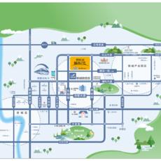 碧桂园城市之光区位图