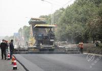 赤壁凤凰山段路面改造10月10日完工