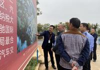 赤壁市领导莅临赤壁天驰国际车城实地视察车管所建设情况