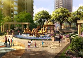 鹏成·新都汇中心广场