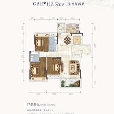 鹏成·清华府--2#5#楼G2