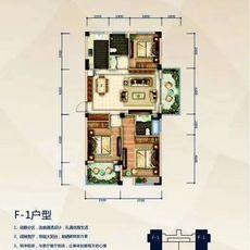 赤壁·凤凰城2#F1户型户型图