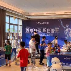 赤壁碧桂园国庆机器人活动