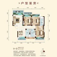 雍景新城9号楼-D户型图