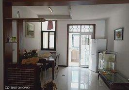国贸附近怡景花园三室两厅精装修出租,朝南超大阳台,家电齐全,每月租金1200元。