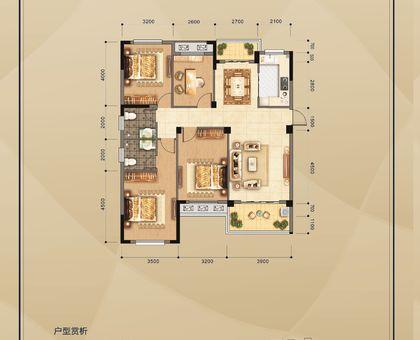赤壁·凤凰城6#楼 K-2