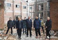 盛文军调研蒲纺工业园区项目建设和老旧小区改造工作